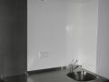 Schashagen/Bliesdorf, Pflegeleichte Küchenverkleidung
