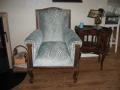 Westensee, Der antike Sessel ist modern gepolstert, Schierensee