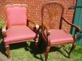 Ruhmoor, Alte Stühle neu gepolstert
